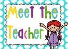 Orientation (Meet the Teacher)