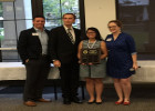 Article OSS Senior Christina N awarded as OSS Key Club Outstanding Student of the Year