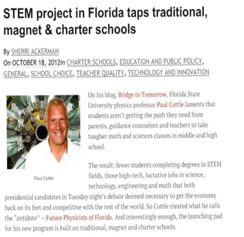 STEM Project in Florida
