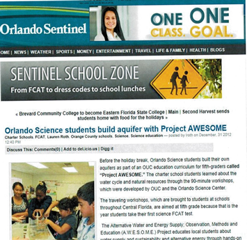 OSS in the Orlando Sentinel_Project