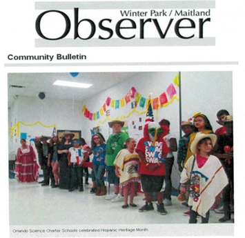 OSS in the Observer - Hispanic Heritage